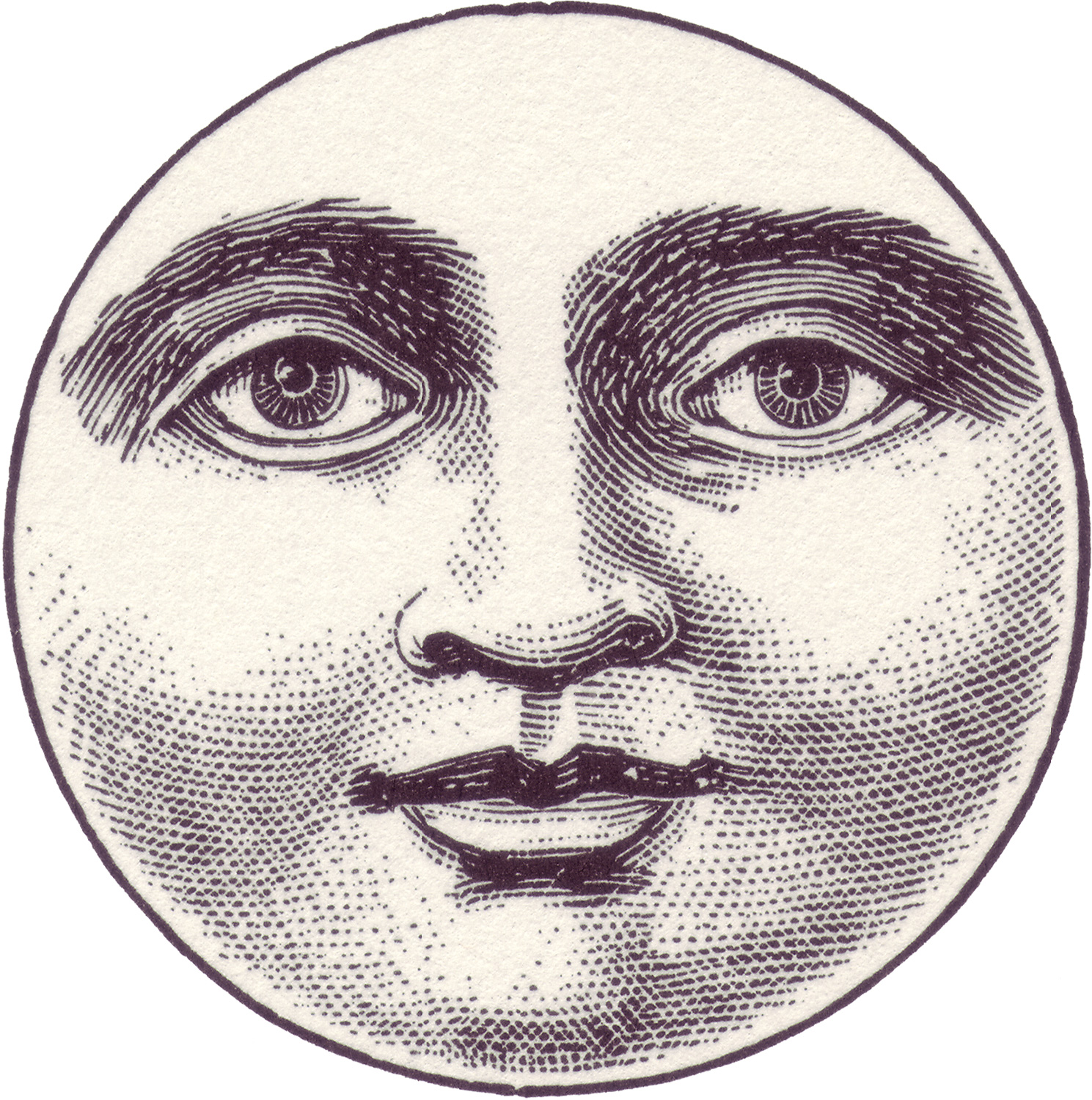 Vintage Moon Face SOUTH / SOUTH | withou...